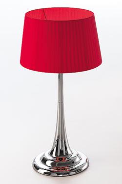 Fluid Cromado lampe GM. Paulo Coelho.