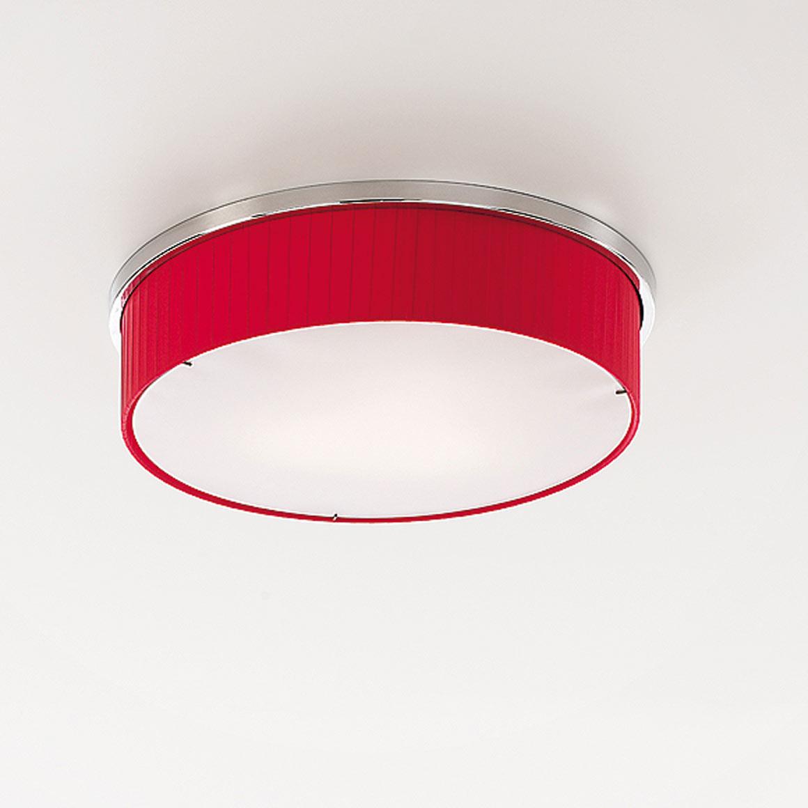 Lampe plafond rouge – Éclairage de la cuisine