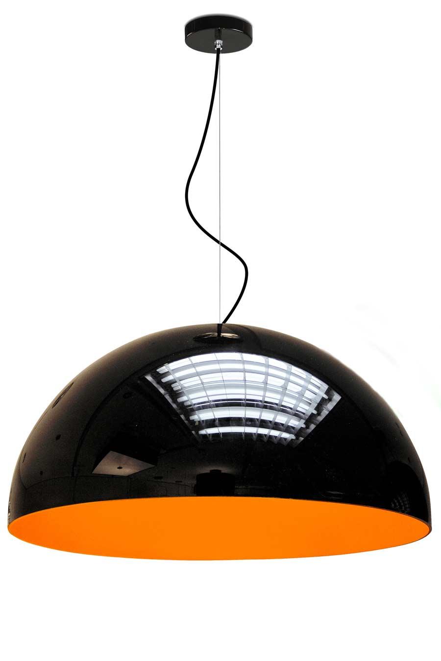 Glow suspension MM intérieur orange. Paulo Coelho.