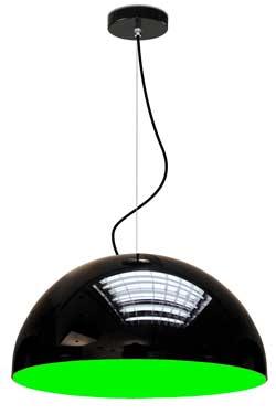 Glow suspension MM intérieur vert. Paulo Coelho.