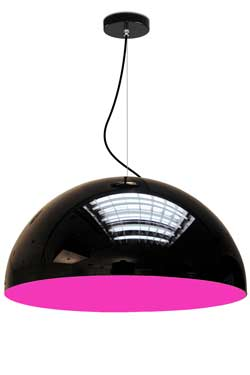 Glow suspension PM intérieur fuchsia. Paulo Coelho.