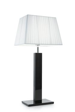 Grande lampe Smooth Wengué . Paulo Coelho.