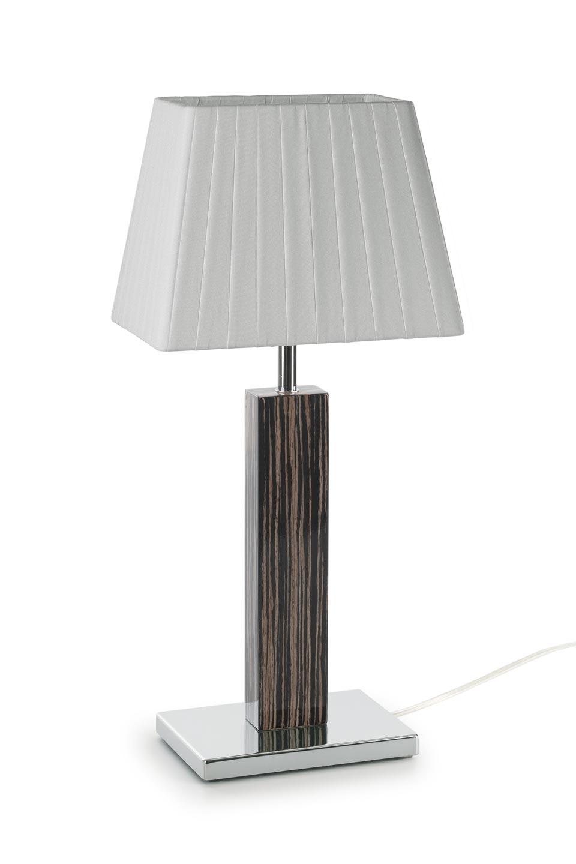 Lampe Smooth II petit modèle en bois d