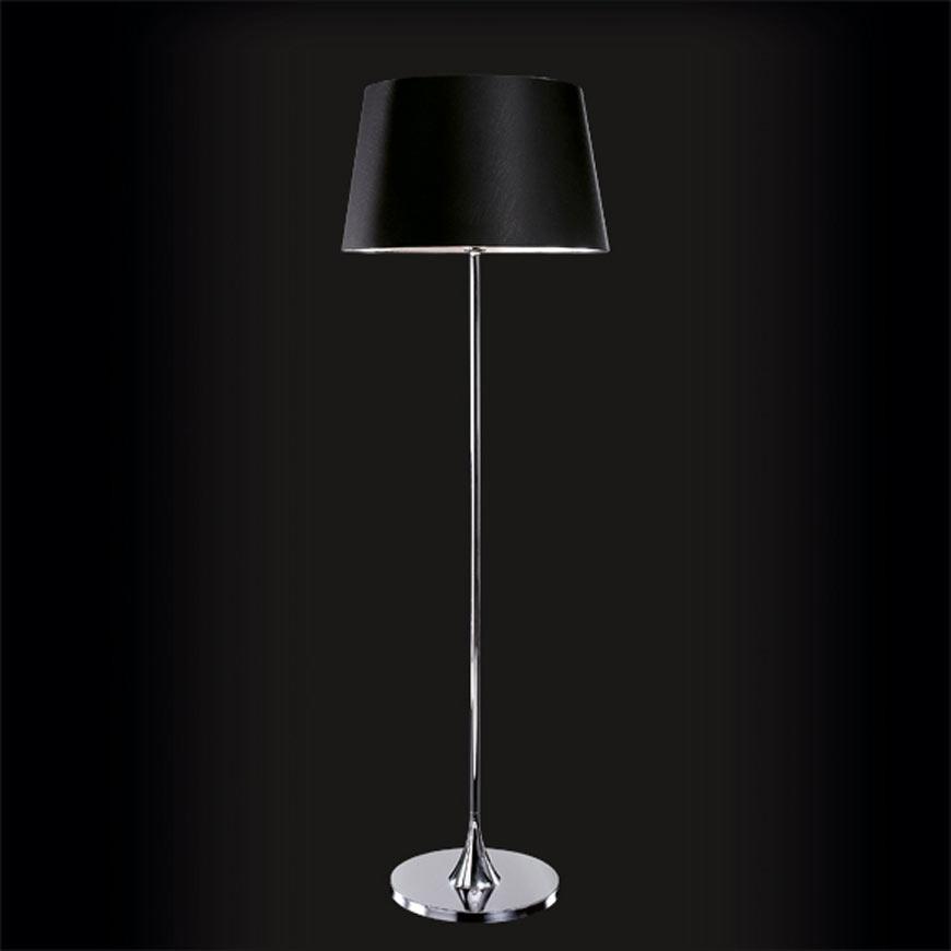 Delta Cromado noir lampadaire. Paulo Coelho.