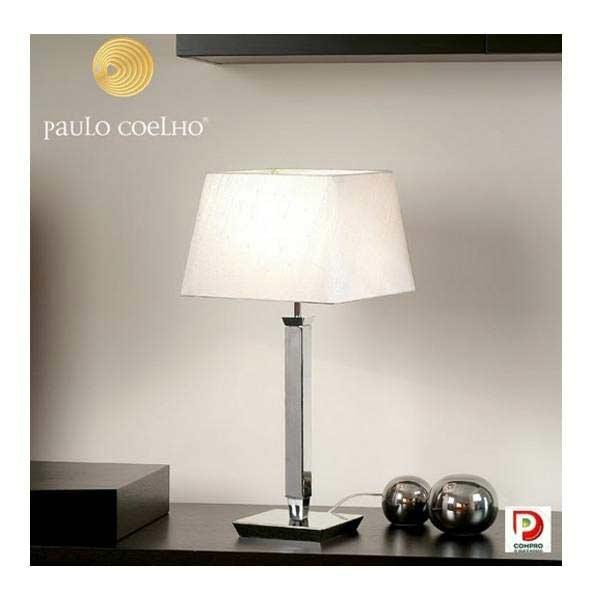 Prisma Cromado lampe PM . Paulo Coelho.