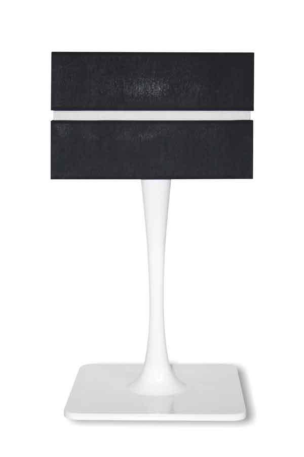 Quadratic Gloss Branco lampe GM. Paulo Coelho.
