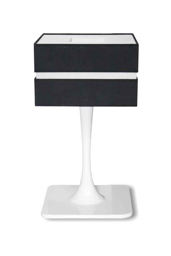 Quadratic Gloss Branco lampe MM. Paulo Coelho.
