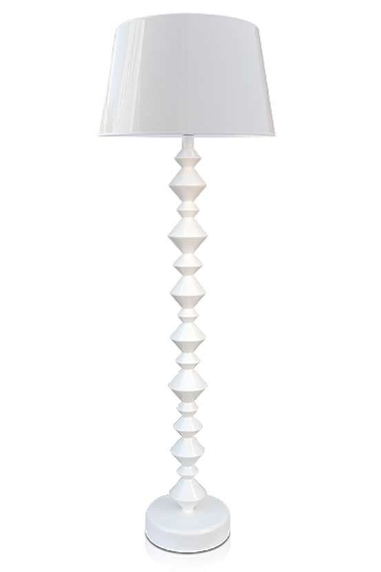 Roll Gloss Branco lampadaire. Paulo Coelho.