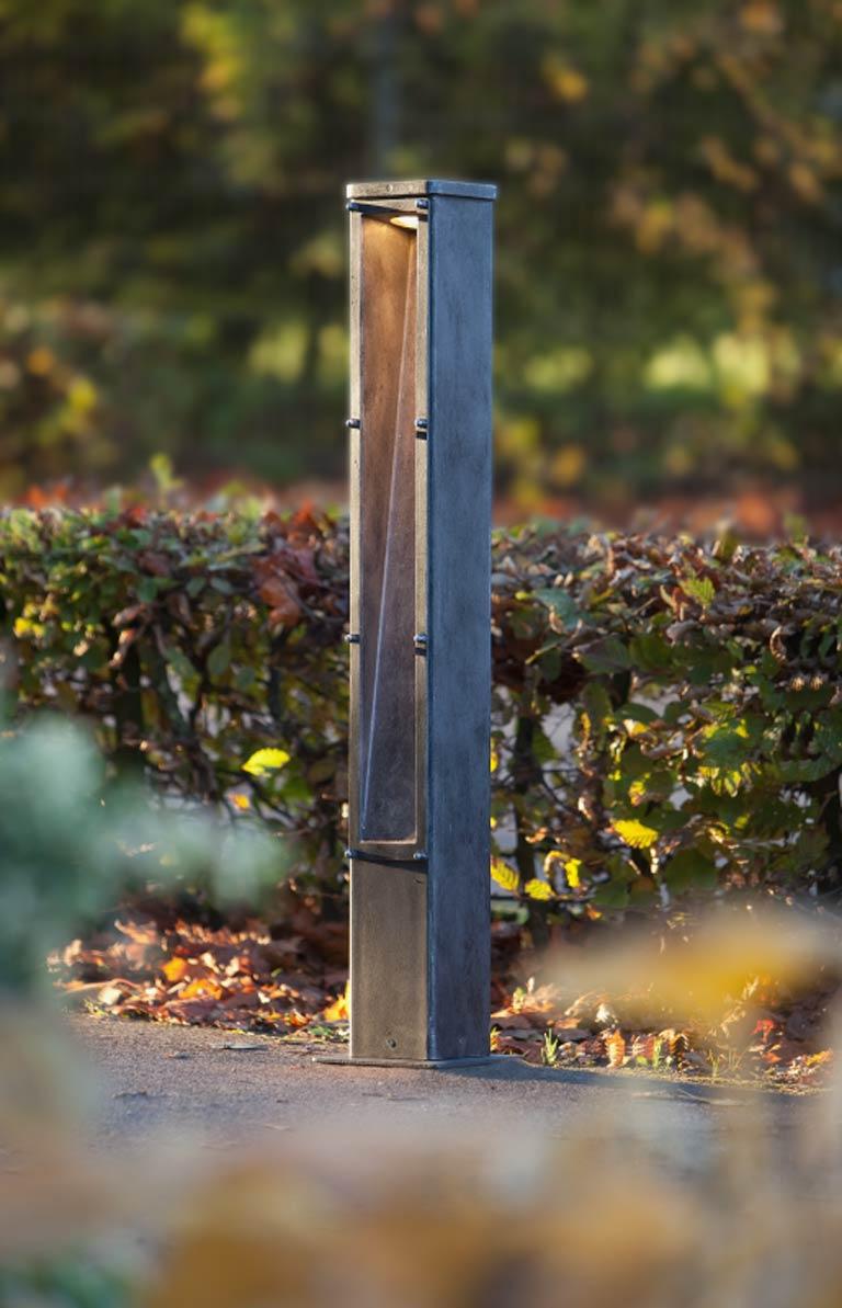 Lampadaire de jardin en fer forg fabriqu par les Lampadaire exterieur de jardin