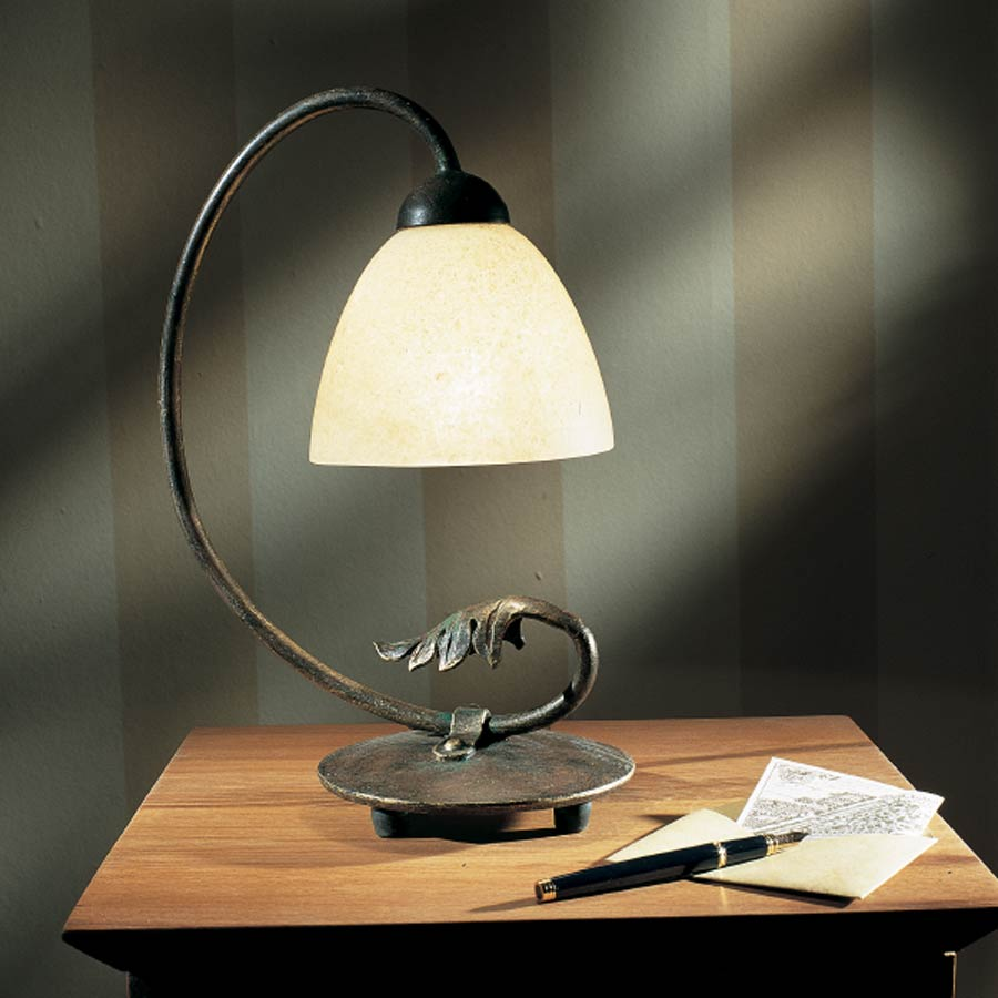 Lampadaire fer forge - Lampe fer forge ...