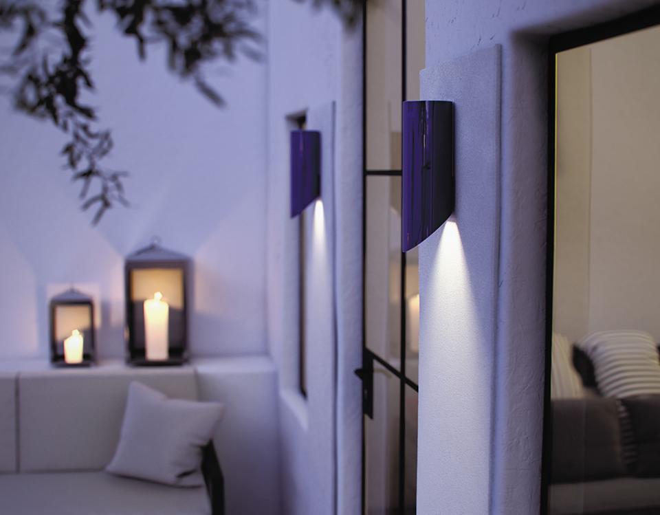 applique d 39 ext rieur design noire moso down royal botania r f 17020004. Black Bedroom Furniture Sets. Home Design Ideas