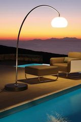 60T Outdoor large Floor Lamp in Stainless Steel. Royal Botania.