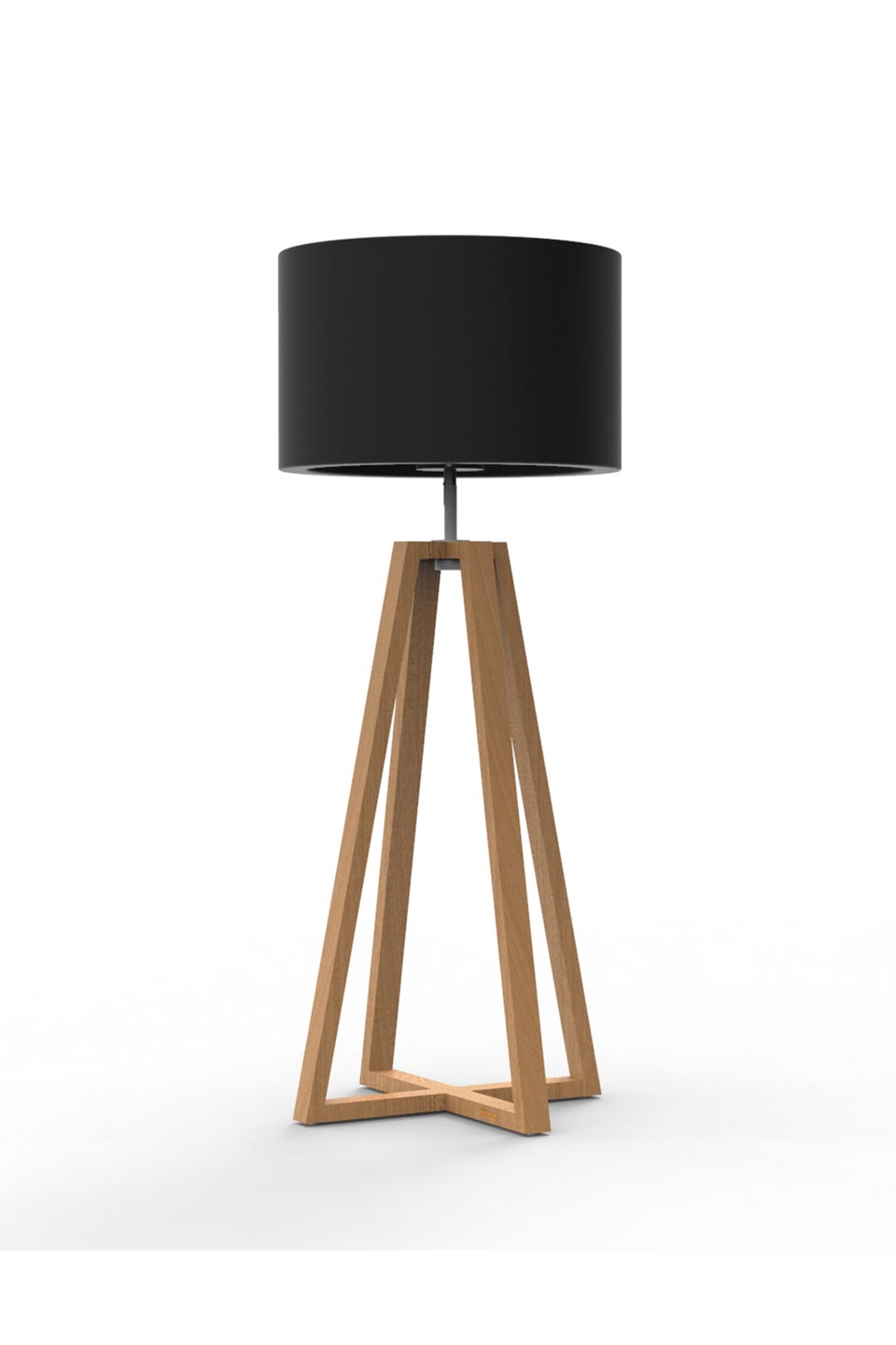 Club Lounge Led Outdoor Floor Lamp In