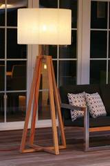 Club Teak Outdoor Waterproof Floor Lamp. Royal Botania.