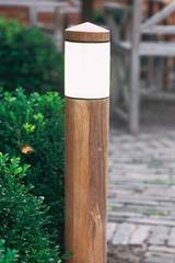 Northpole garden path lighting teak and bronze 70cm. Royal Botania.