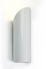 Moso Up white outdoor wall light. Royal Botania.