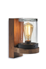 Teak Outdoor wall lamp  Cloche. Royal Botania.