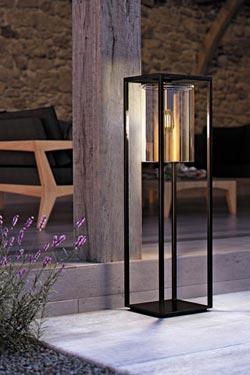 Dome Move Outdoor Lantern Floor Lamp In