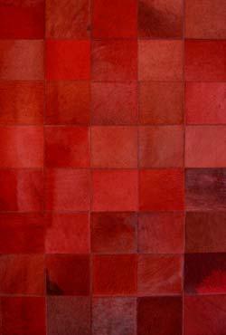 tapis en peau rouge prague 120x180 par santelmo le sp cialiste du tapis en peau r f 10070023. Black Bedroom Furniture Sets. Home Design Ideas