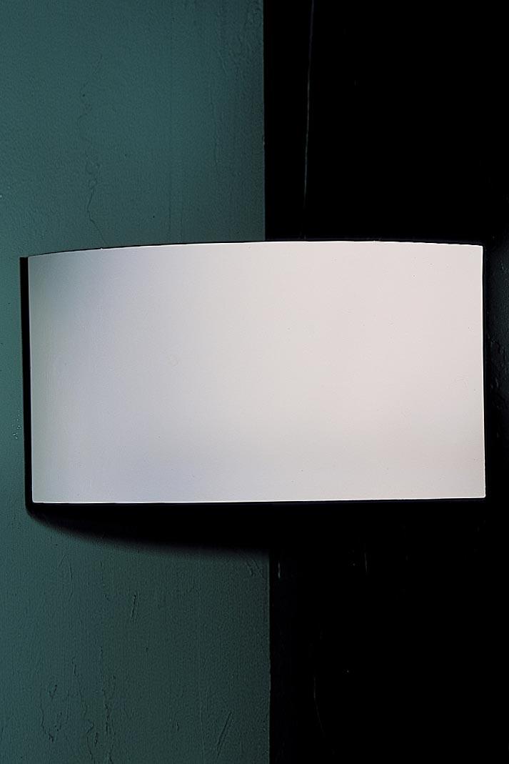Applique d'angle Lia 3032 forme bandeau en plâtre naturel. Sedap.