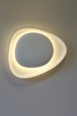 Crépidula applique sculpture de lumière. Sedap.