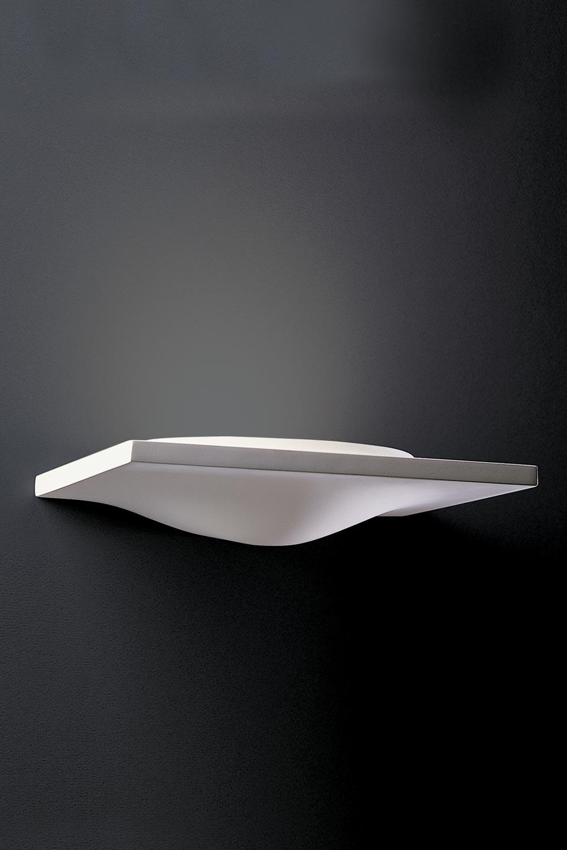 X-Lamp 1733 applique en plâtre naturel blanc. Sedap.