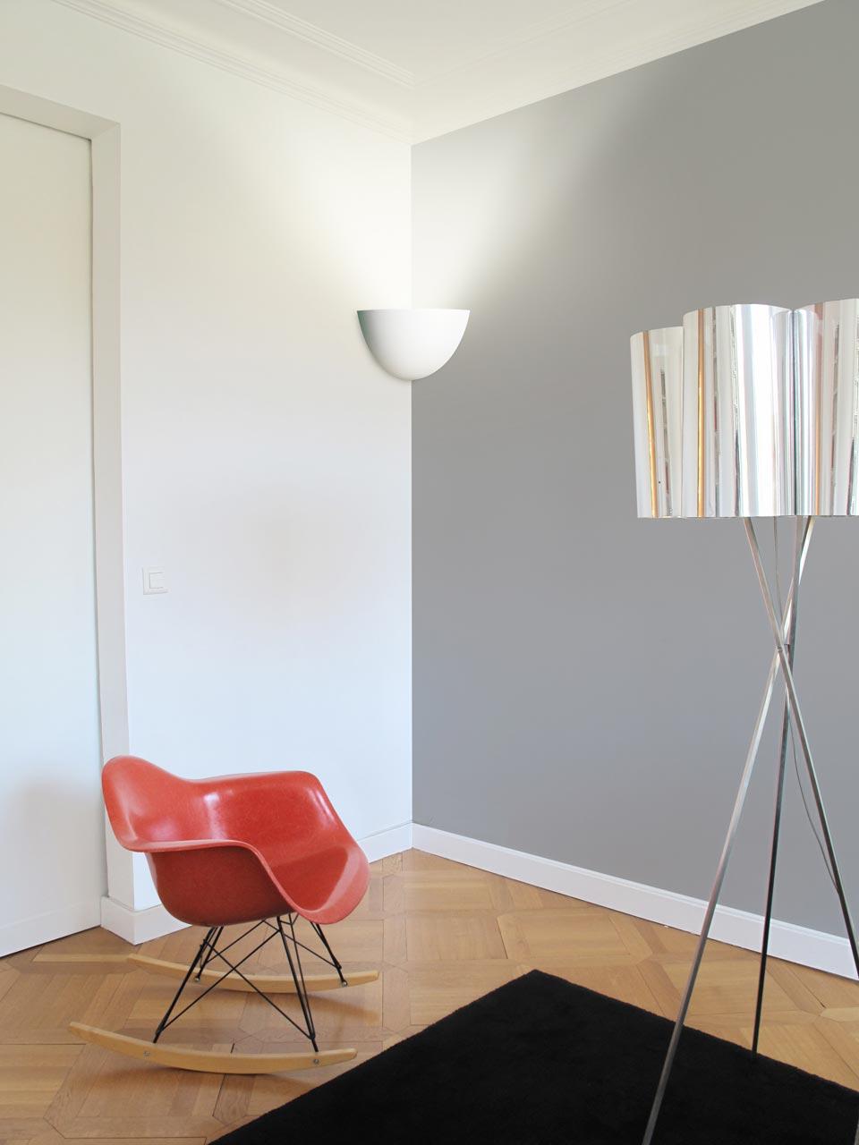applique angle 1427 en pl tre naturel pour coin de pi ce. Black Bedroom Furniture Sets. Home Design Ideas