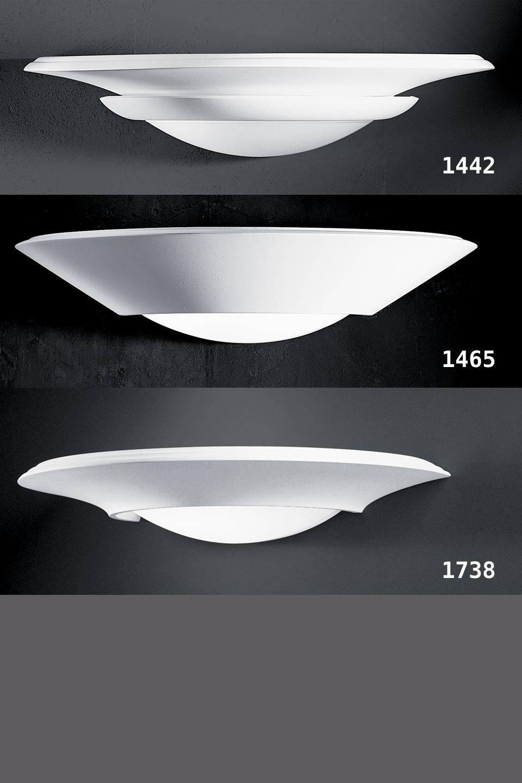 applique vasque en pl tre et verre d poli 1442 r f 10010097. Black Bedroom Furniture Sets. Home Design Ideas