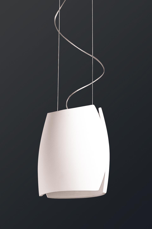 suspension oh jupe en pl tre naturel blanc r f 10010122. Black Bedroom Furniture Sets. Home Design Ideas