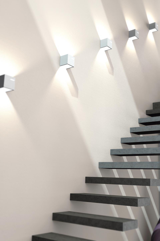 d 3057 applique en cube de pl tre naturel sedap. Black Bedroom Furniture Sets. Home Design Ideas