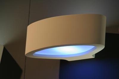 oval 3058 applique en pl tre naturel sedap luminaires. Black Bedroom Furniture Sets. Home Design Ideas