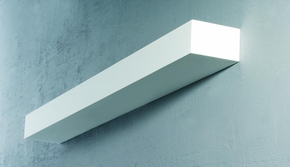 applique murale en pl tre rectangulaire edge 62cm r f 13100211. Black Bedroom Furniture Sets. Home Design Ideas