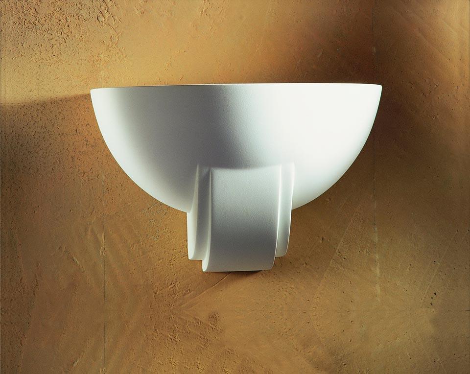 applique vasque 1340 moulure en pl tre naturel blanc. Black Bedroom Furniture Sets. Home Design Ideas
