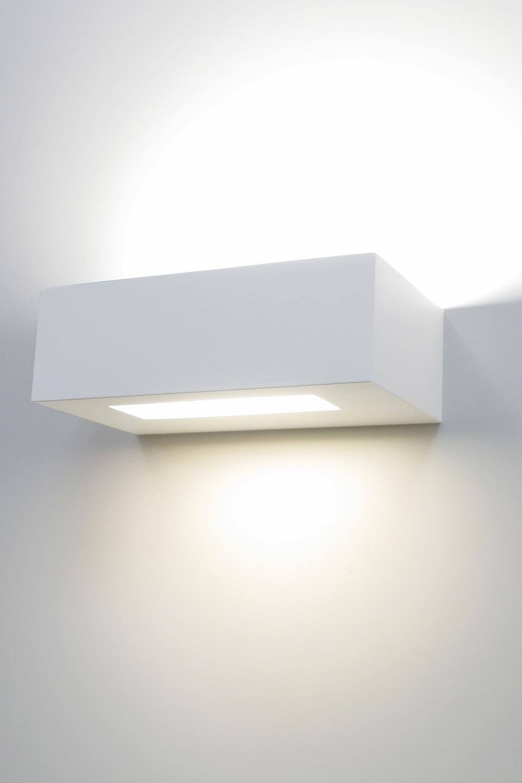 applique saqqara power 3076 rectangulaire en pl tre. Black Bedroom Furniture Sets. Home Design Ideas