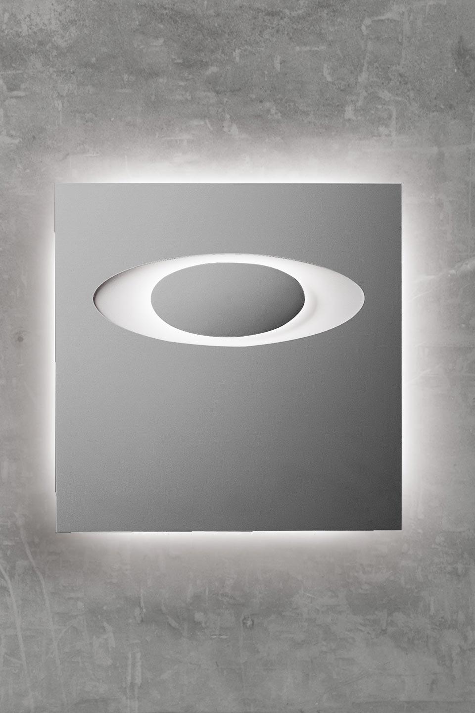 applique eclipse 1594 en pl tre naturel blanc motif en. Black Bedroom Furniture Sets. Home Design Ideas