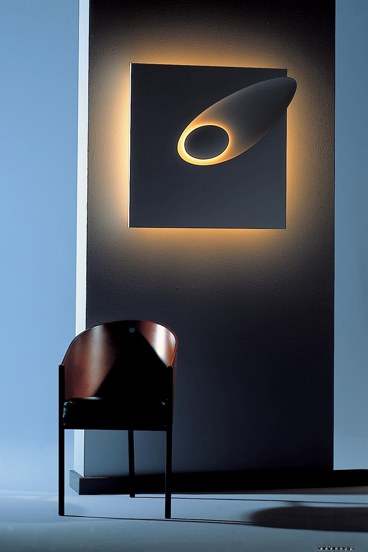 applique bolide 1593 en pl tre naturel blanc motif m t ore. Black Bedroom Furniture Sets. Home Design Ideas