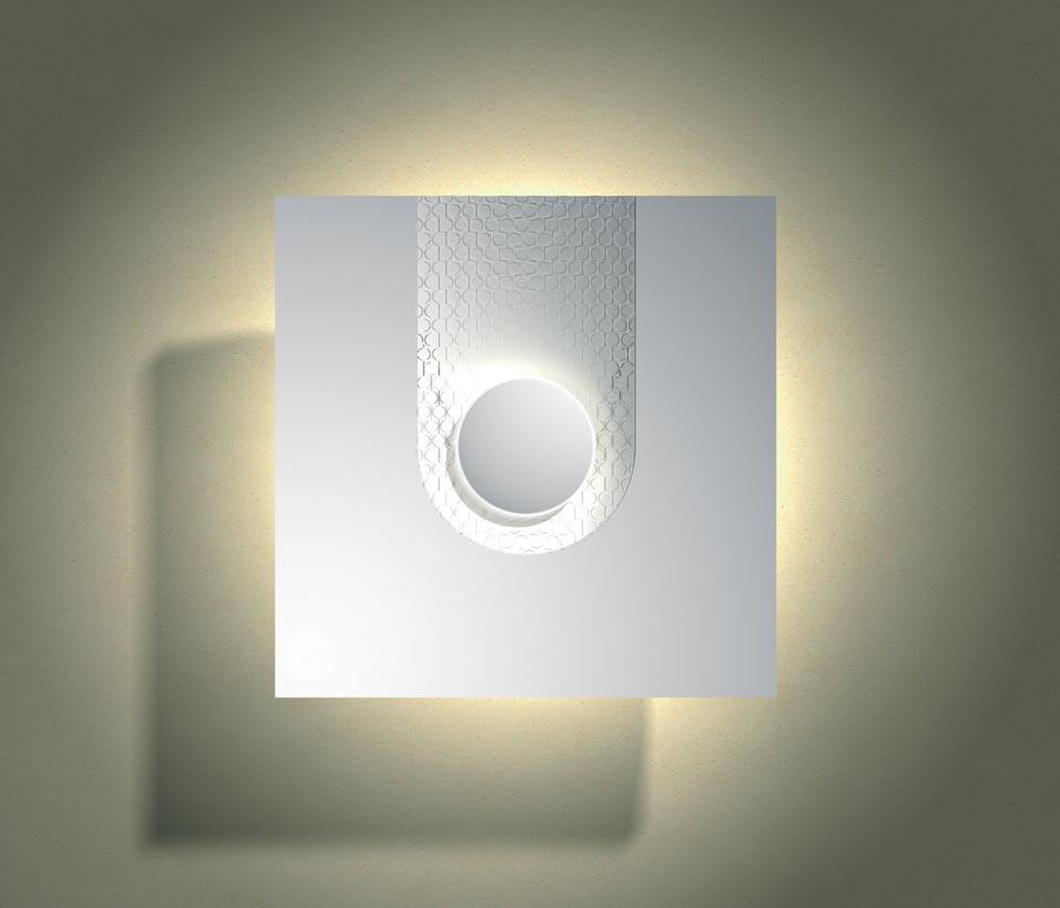 applique wallpaper 3027 en pl tre naturel blanc sedap. Black Bedroom Furniture Sets. Home Design Ideas