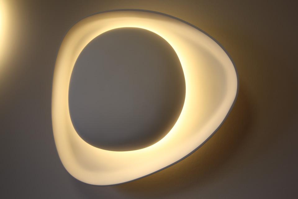 cr pidula applique sculpture de lumi re sedap. Black Bedroom Furniture Sets. Home Design Ideas