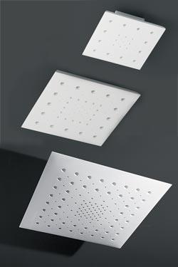 Plafonnier Moucharabieh carré en plâtre naturel blanc ajouré. Sedap.