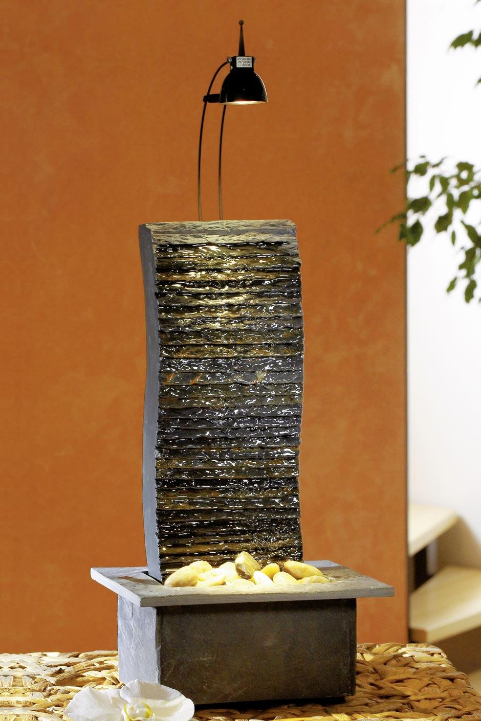 Fontaine en pierre naturelle rectangle vertical intérieur | Seliger ...
