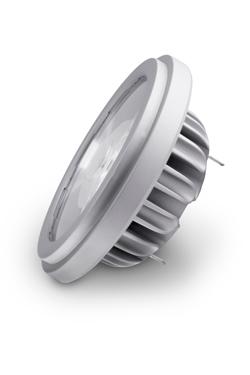 Ampoule spot AR111 LED 9°, 3000K. SORAA.