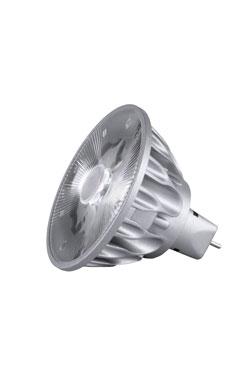 Ampoule spot GU5.3 LED, 10°, 2700K. SORAA.