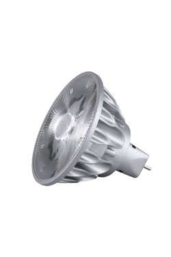 Ampoule spot GU5.3 LED, 10°, 3000K. SORAA.