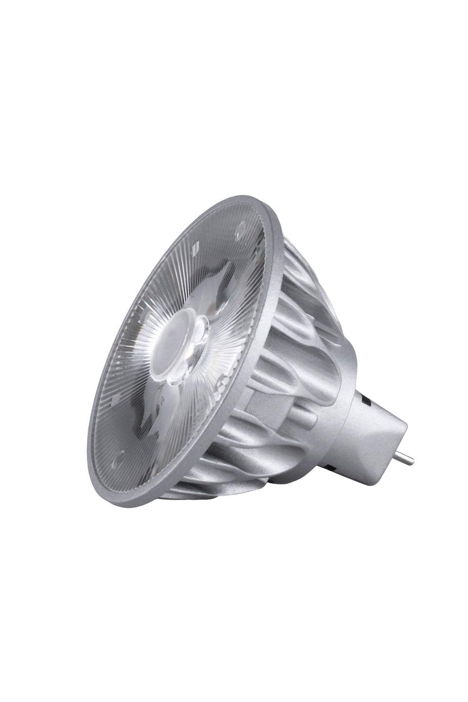 Ampoule spot GU5.3 LED, 10°, 4000K. SORAA.