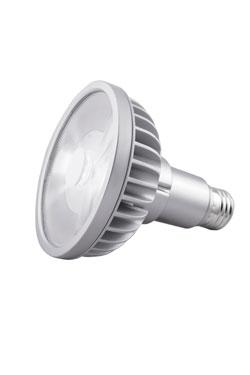 Ampoule spot PAR30L LED 9°, 2700K (cou long). SORAA.