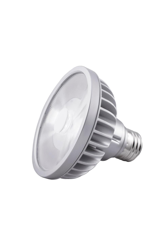 Ampoule spot PAR30S LED 9°, 3000K (cou court). SORAA.
