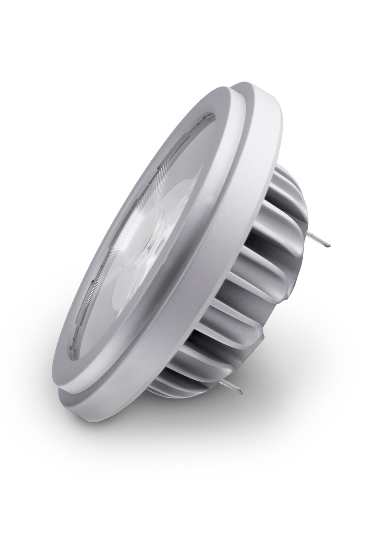 Spot bulb AR111 LED 9 °, 2700 K. SORAA.
