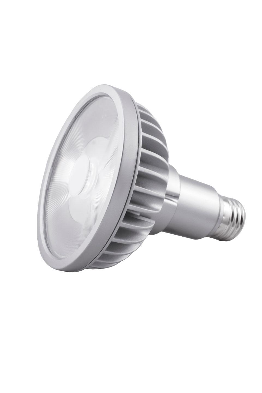 Spot bulb PAR30L LED 9 °, 2700 K (long neck). SORAA.
