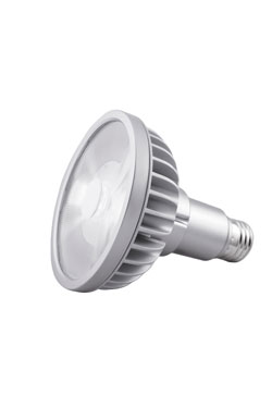 Spot bulb PAR30L LED 9 °, 3000 K (long neck). SORAA.