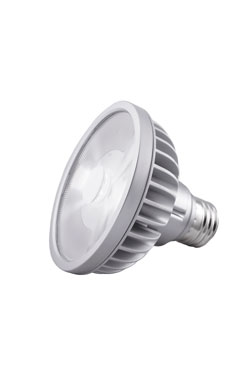Spot bulb PAR30S LED 9 °, 3000 K (short neck). SORAA.